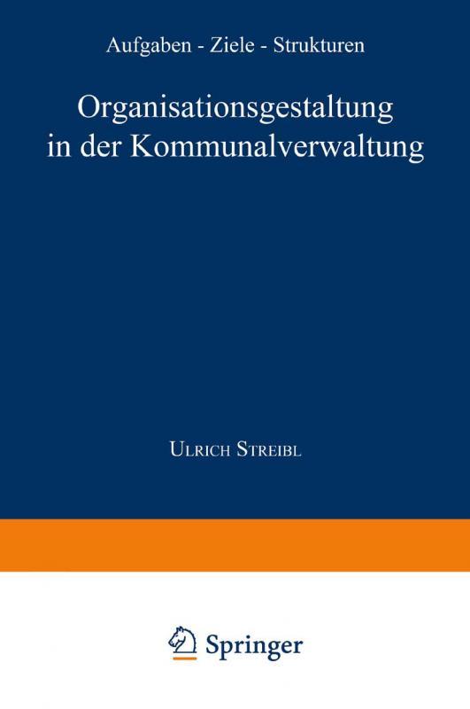 Cover-Bild Organisationsgestaltung in der Kommunalverwaltung