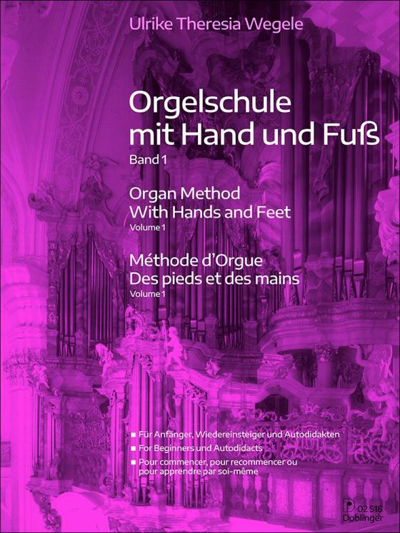 Cover-Bild Orgelschule mit Hand und Fuß Band 1