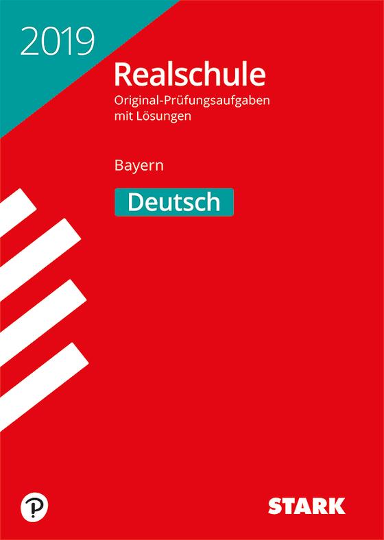 Cover-Bild Original-Prüfungen Realschule 2019 - Deutsch - Bayern