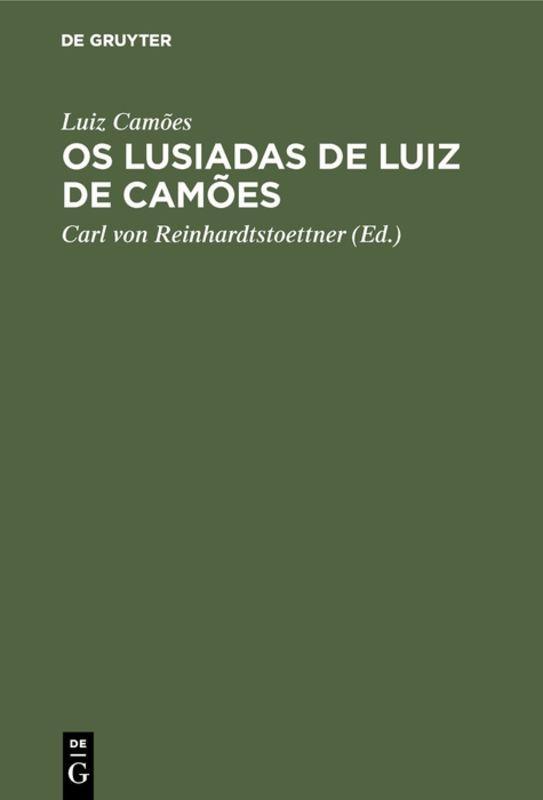 Cover-Bild Os Lusiadas de Luiz de Camões