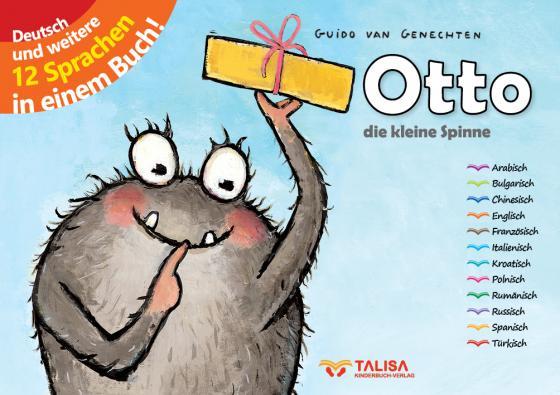 Cover-Bild Otto - die kleine Spinne
