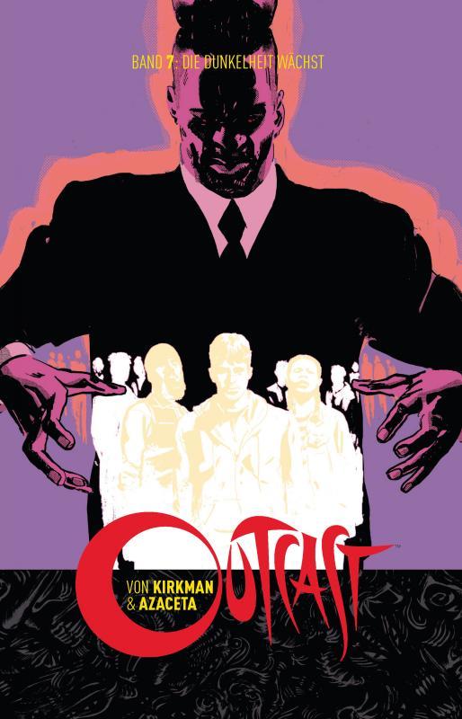 Cover-Bild Outcast 7: Die Dunkelheit wächst