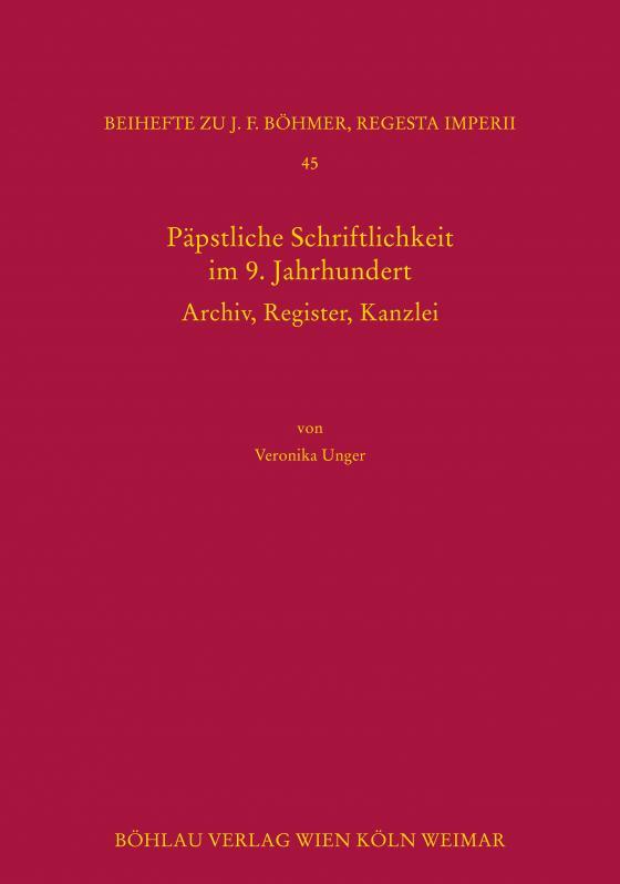 Cover-Bild Päpstliche Schriftlichkeit im 9. Jahrhundert