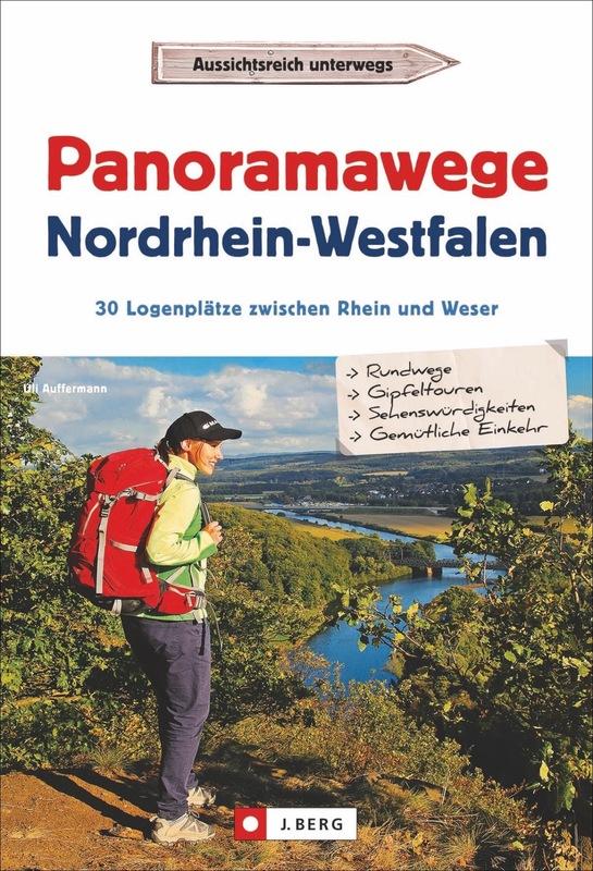 Cover-Bild Panoramawege Nordrhein-Westfalen