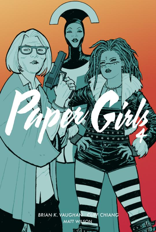 Cover-Bild Paper Girls 4