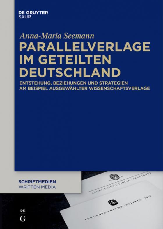Cover-Bild Parallelverlage im geteilten Deutschland