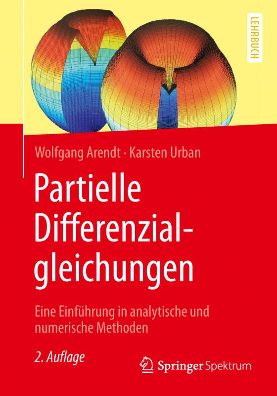 Cover-Bild Partielle Differenzialgleichungen