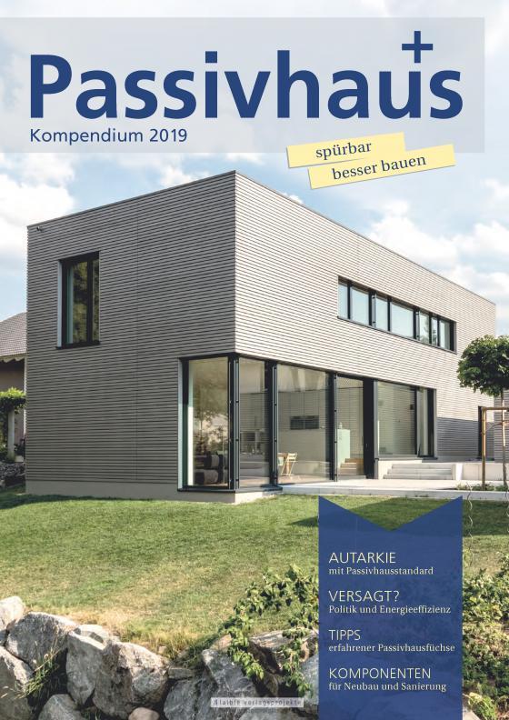Cover-Bild Passivhaus Kompendium 2019