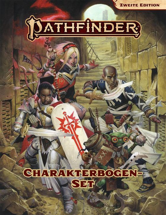 Cover-Bild Pathfinder 2 - Charakterbogenpack