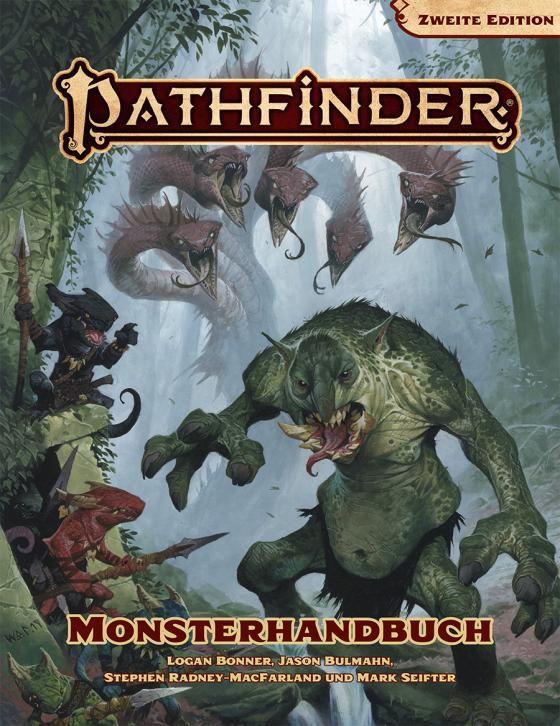 Cover-Bild Pathfinder 2 Monsterhandbuch