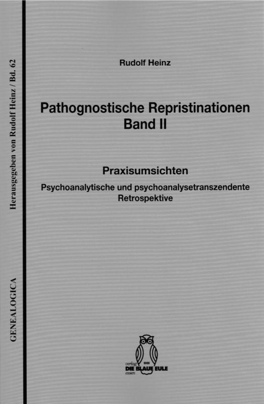 Cover-Bild Pathognostische Repristinationen Band II