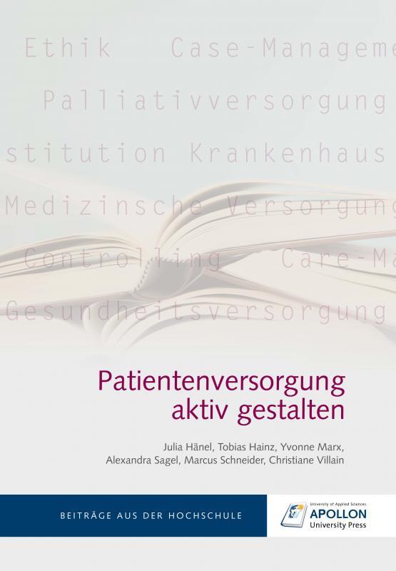 Cover-Bild Patientenversorgung aktiv gestalten