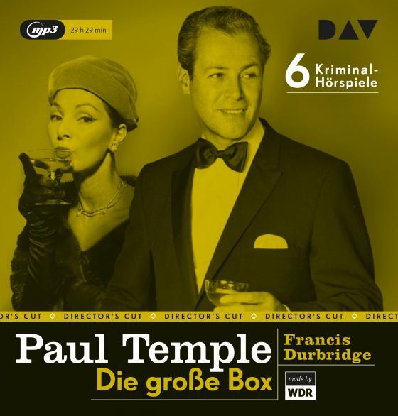 Cover-Bild Paul Temple – Die große Box