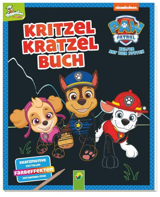 Cover-Bild Paw Patrol - Kritzel-Kratzel-Buch