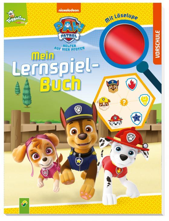 Cover-Bild Paw Patrol Mein Lernspielbuch mit Löselupe