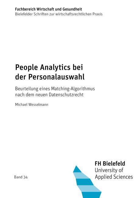 Cover-Bild People Analytics bei der Personalauswahl