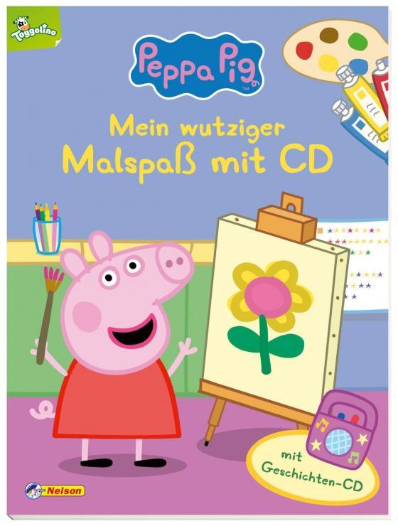 Cover-Bild Peppa: Mein wutziger Malspaß mit CD