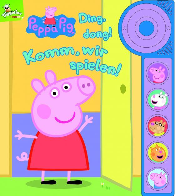 Cover-Bild Peppa Pig - Ding, dong! Komm, wir spielen! - Soundbuch