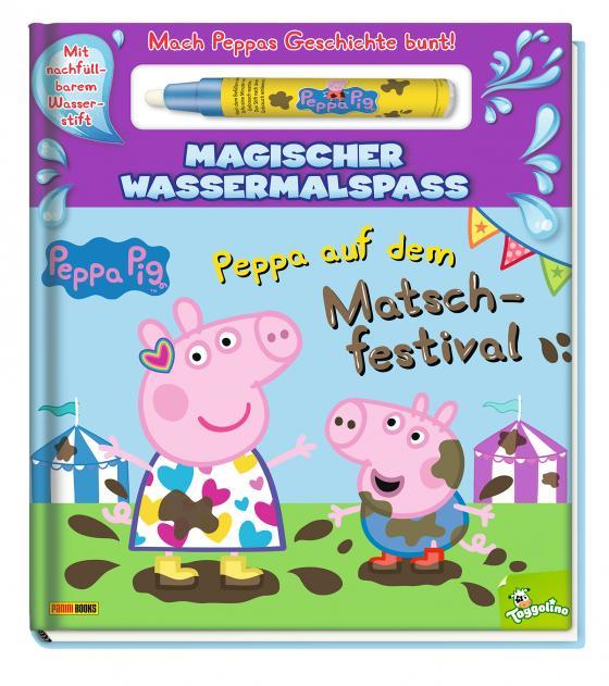 Cover-Bild Peppa Pig: Peppa auf dem Matschfestival - Magischer Wassermalspaß
