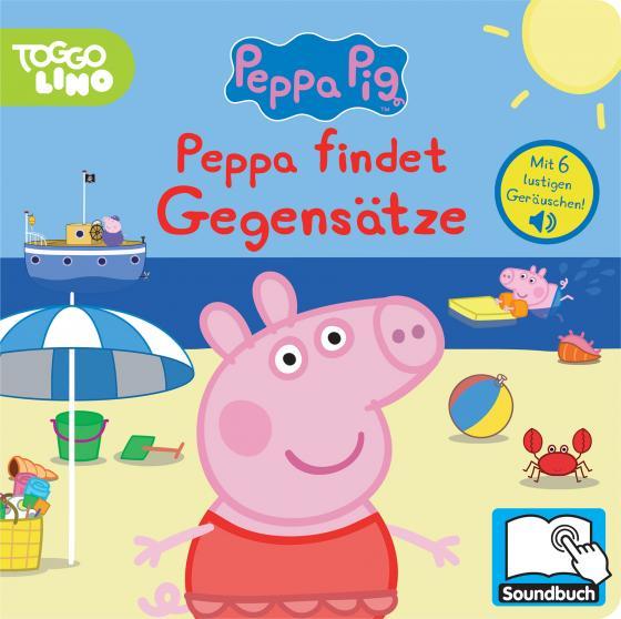 Cover-Bild Peppa Pig - Peppa findet Gegensätze