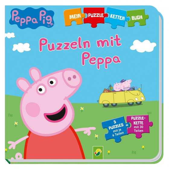 Cover-Bild Peppa Pig - Puzzeln mit Peppa