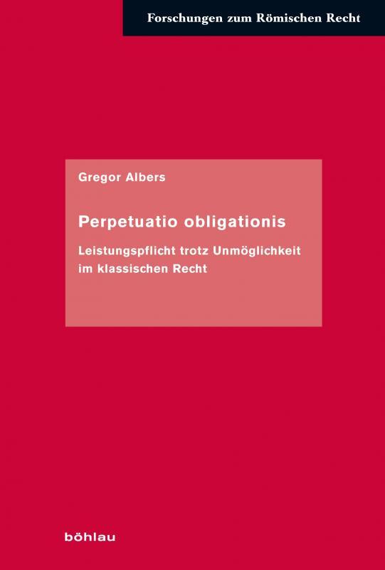 Cover-Bild Perpetuatio obligationis