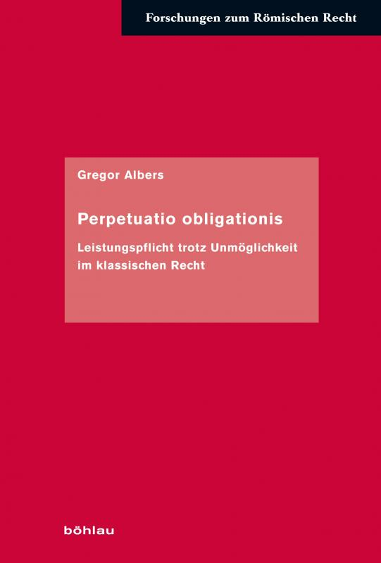 Cover-Bild Perpetuatio obligationis