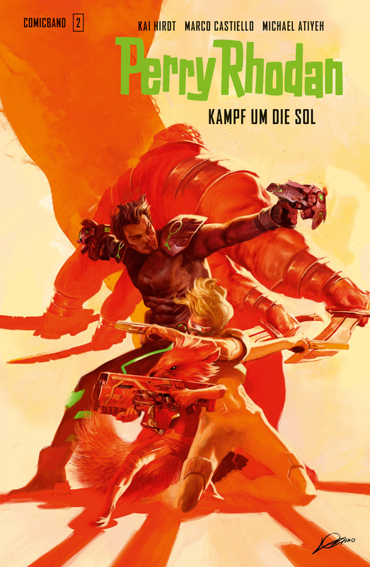 Cover-Bild Perry Rhodan Comic 2: Kampf um die Sol