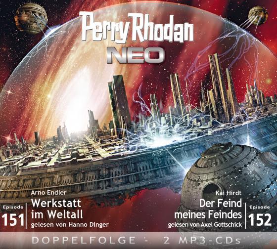 Cover-Bild Perry Rhodan NEO MP3 Doppel-CD Folgen 151 + 152