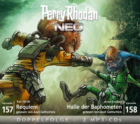 Cover-Bild Perry Rhodan NEO MP3 Doppel-CD Folgen 157 + 158