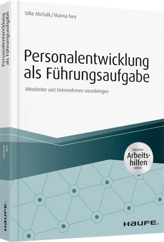 Cover-Bild Personalentwicklung als Führungsaufgabe - inkl. Arbeitshilfen online