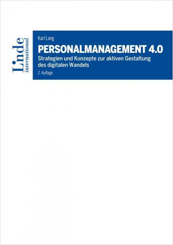Cover-Bild Personalmanagement 4.0