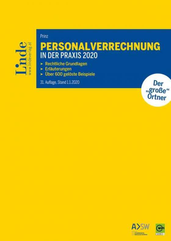 Cover-Bild Personalverrechnung in der Praxis 2020