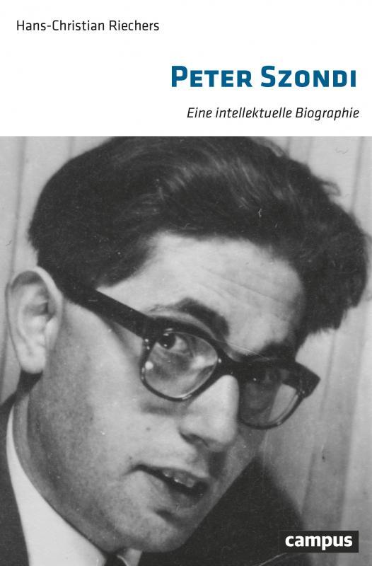 Cover-Bild Peter Szondi