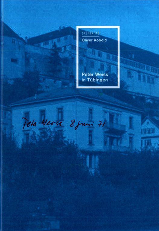 Cover-Bild Peter Weiss in Tübingen