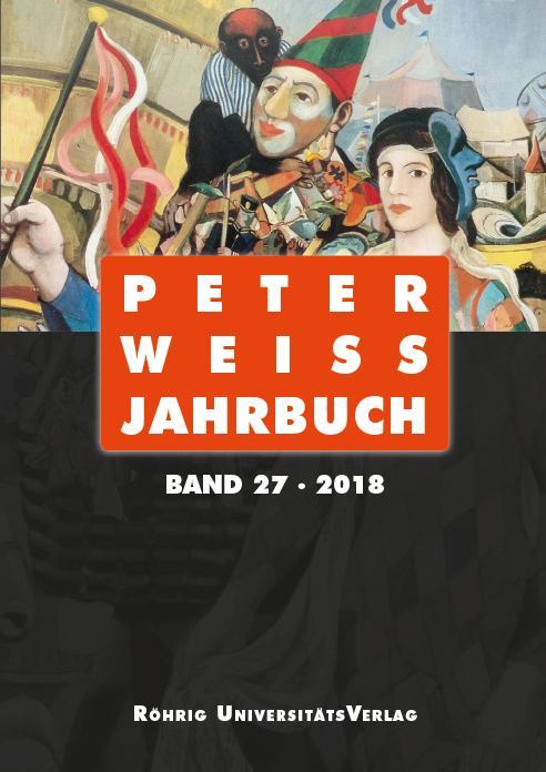 Cover-Bild Peter Weiss Jahrbuch 27 (2018)