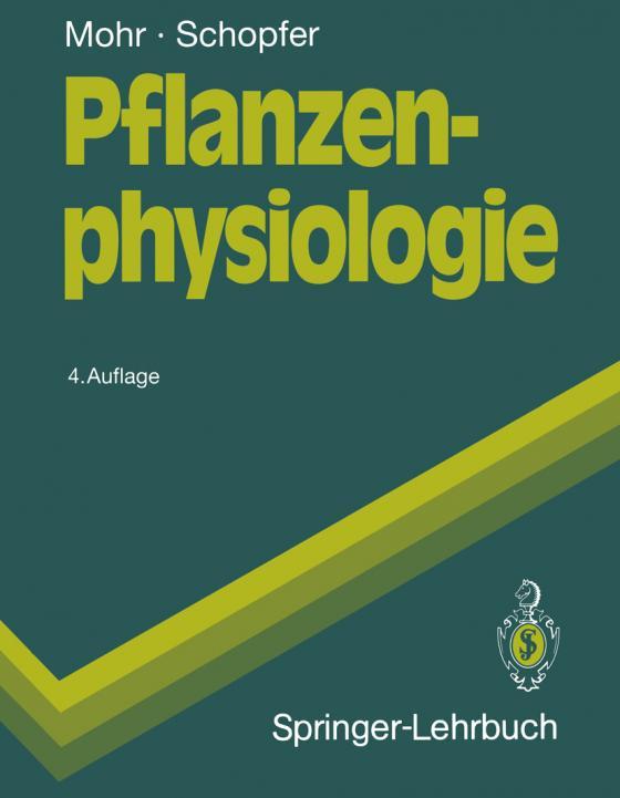 Cover-Bild Pflanzenphysiologie
