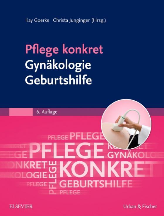 Cover-Bild Pflege konkret Gynäkologie Geburtshilfe