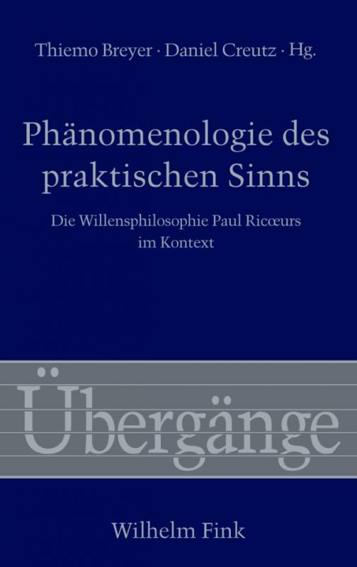 Cover-Bild Phänomenologie des praktischen Sinns