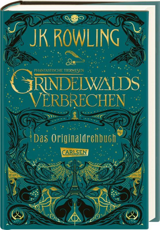 Cover-Bild Phantastische Tierwesen: Grindelwalds Verbrechen (Das Originaldrehbuch)