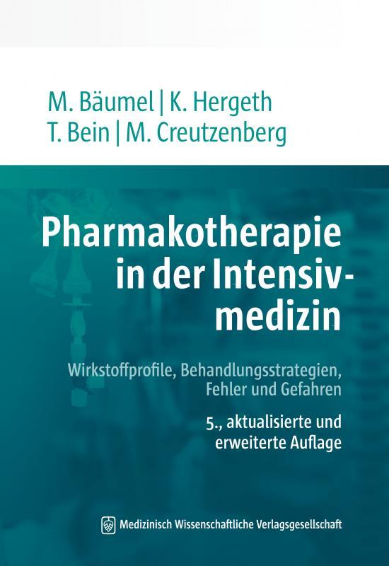 Cover-Bild Pharmakotherapie in der Intensivmedizin