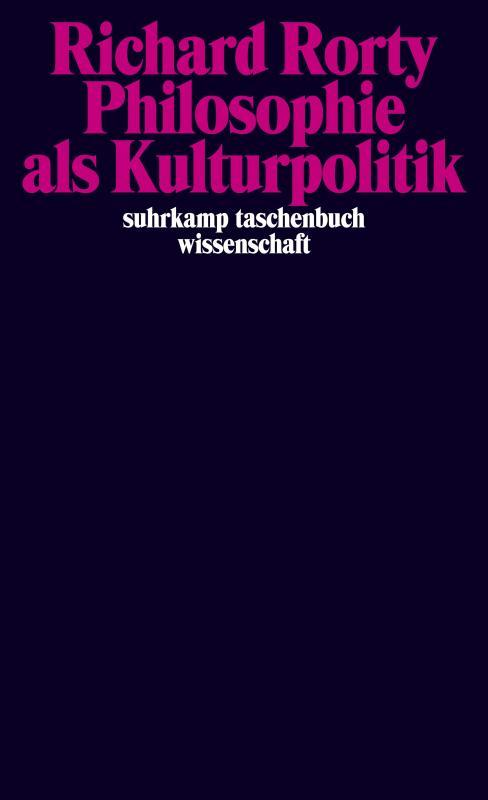 Cover-Bild Philosophie als Kulturpolitik