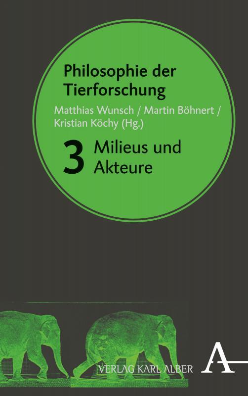 Cover-Bild Philosophie der Tierforschung