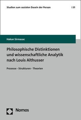 Cover-Bild Philosophische Distinktionen und wissenschaftliche Analytik nach Louis Althusser