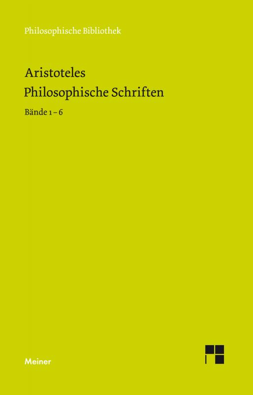 Cover-Bild Philosophische Schriften