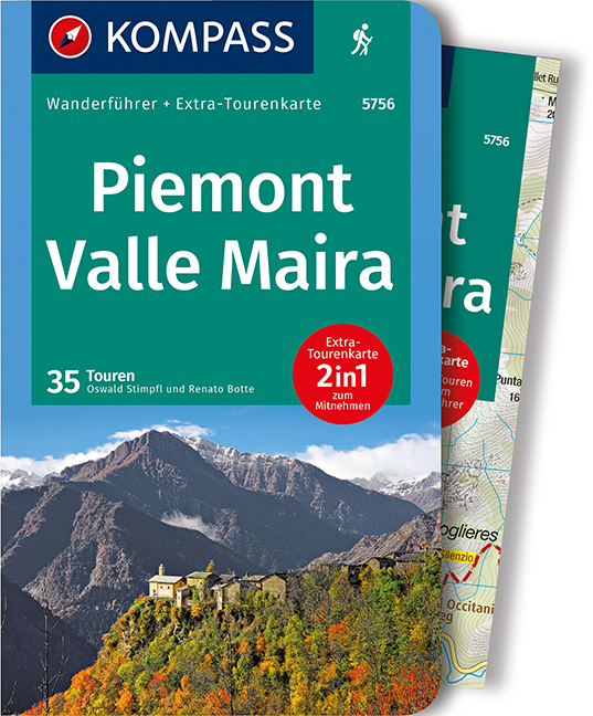 Cover-Bild Piemont, Valle Maira