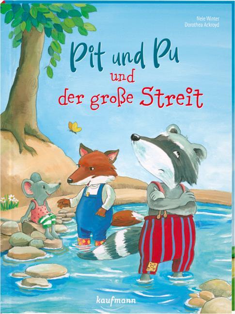 Cover-Bild Pit und Pu und der große Streit