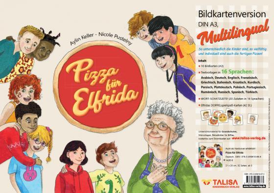 Cover-Bild Pizza für Elfrida - Bildkartenversion (A3, Multilingual)