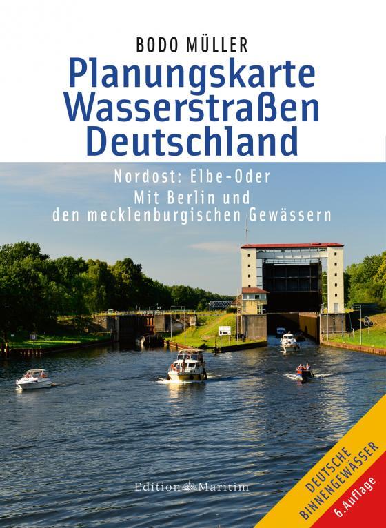 Cover-Bild Planungskarte Wasserstraßen Deutschland Nordost