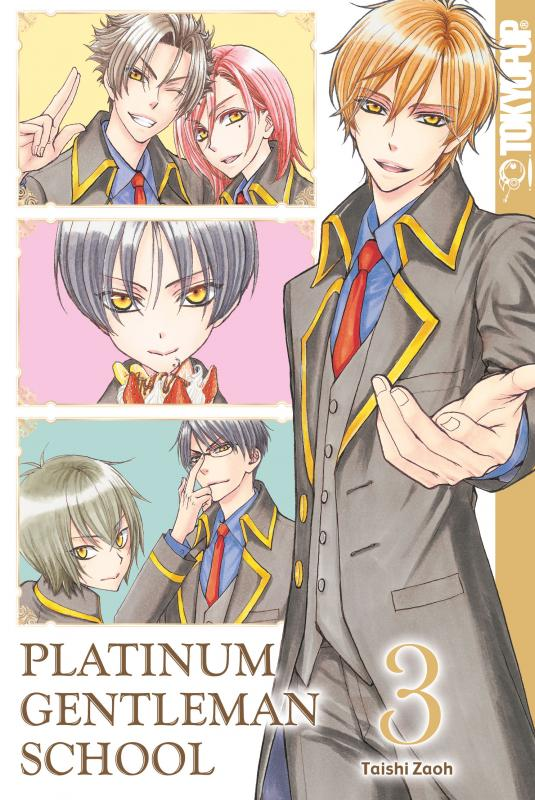Cover-Bild Platinum Gentleman School 03